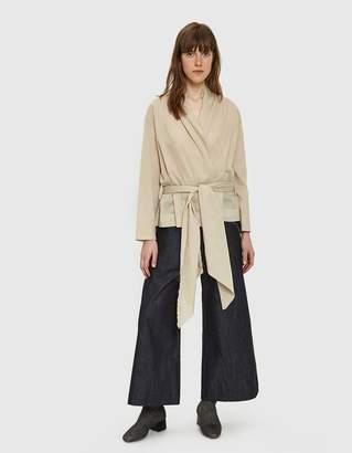 Da/Da Diane Ducasse Wrap-Over Shirt