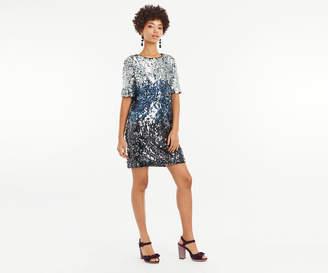 Oasis OMBRE SEQUIN SHIFT DRESS
