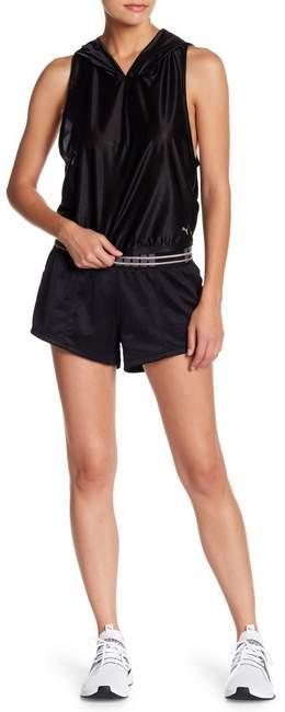 PUMA Fusion Logo Waistband Shorts