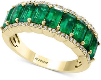 Effy Brasilica by Emerald (2-3/8 ct. t.w.) & Diamond (1/6 ct. t.w.) Ring in 14k Gold