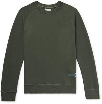 Nudie Jeans Samuel Loopback Cotton-Jersey Sweatshirt