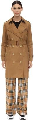 Burberry Kensington Hd Long Nylon Trench Coat