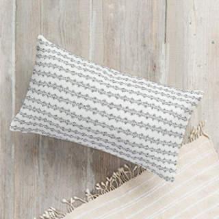 Folk Dots Lumbar Pillow