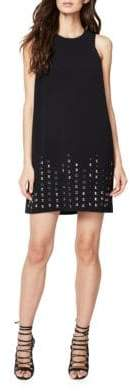 Rachel Roy Jewelneck Sleeveless Embellished Dress