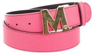 MCM Leather Hip Belt