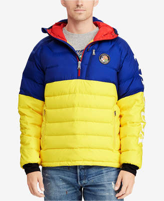 Polo Ralph Lauren Downhill Skier Men's Hooded Down Pullover