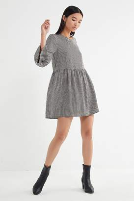 Urban Outfitters Gingham Babydoll Dress
