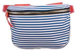 Clare Vivier Striped Leather Waist Bag