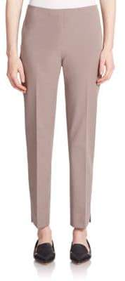 Peserico Stretch-Cotton Ankle Pants