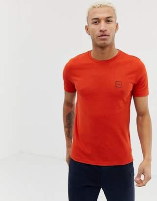 BOSS Tales logo t-shirt in red