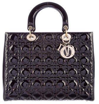 Christian Dior Christian Dior Large Lady Dior Bag