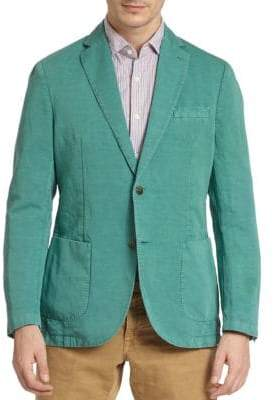 Incotex Linen Cotton Blazer