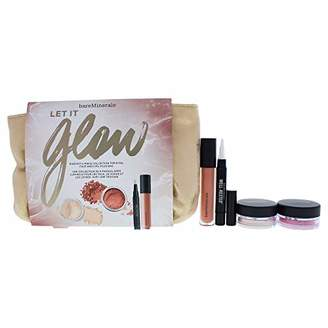 Bare Escentuals bareMinerals Let It Glow Set for Women with Blush Floret & Mineral Veil Finishing