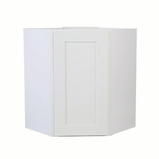 Design House 613570 Brookings Corner Wall Kitchen Cabinet 24x30x12, White