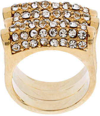 French Connection Stack Ring Set