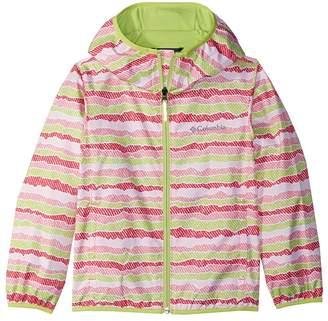 Columbia Kids Pixel Grabbertm II Wind Jacket Girl's Coat