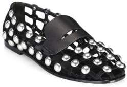 Alexander Wang Sam Studded Suede Shoe