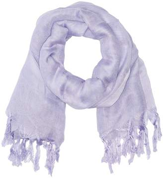 Love Quotes Linen Tassel Scarf Scarves