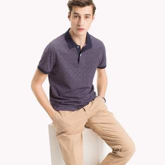 Tommy Hilfiger Microprint Slim Fit Polo
