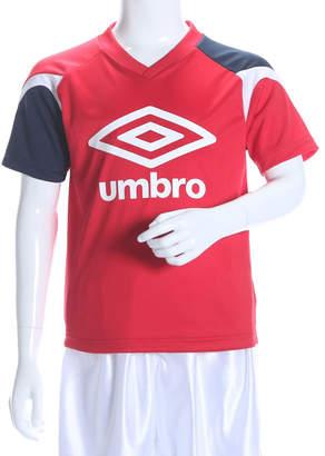 Umbro (アンブロ) - アンブロ UMBRO サッカー/フットサル 半袖シャツ JR プラクティスS/Sシャツ UBS7606SDJ