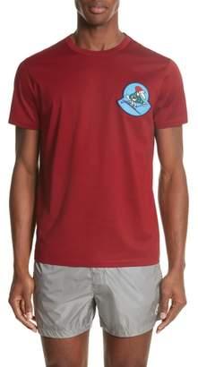 Moncler Maglia Ski Logo T-Shirt