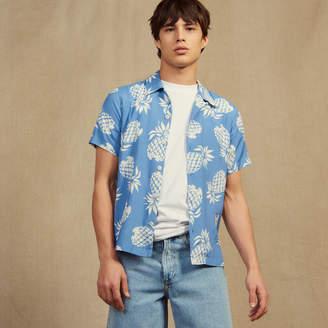 Sandro Hawaiian printed shirt