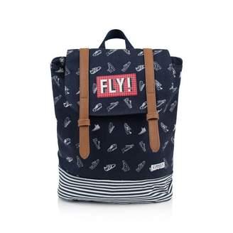 Ikks IKKSBoys Navy Trainer Print Backpack