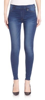 True Religion Runway Pull On Legging Jeans $148 thestylecure.com