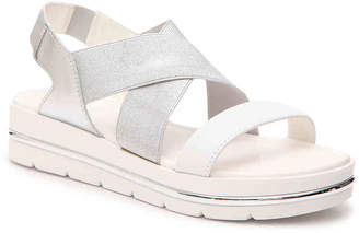 3f2eecdb9 Nine West Silver Women's Sandals - ShopStyle