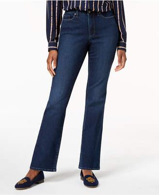 Charter Club Petite Dark Wash Bootcut Jeans