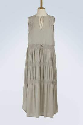 James Perse Pleated dress