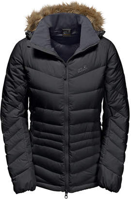 Jack Wolfskin Women's Selenium Bay Jacket from with Faux Fur Trim from Eastern Mountain Sports