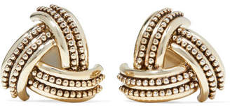 Etro Gold-tone Clip Earrings