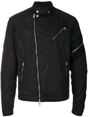Moncler lightweight biker style jacket