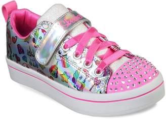 Skechers Twinkle Toes Twi-Lites Fancy Faces Girls' Light Up Shoes