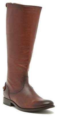Frye Melissa Button Back Zip Boot