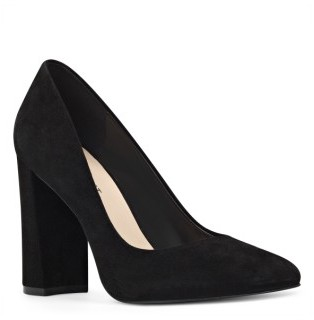 Women's Nine West Denton Block Heel Pump $89.95 thestylecure.com