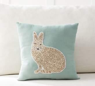 Pottery Barn Jeweled Bunny Pillow