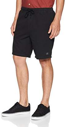 Obey Men's Heritage Elastic Waist Dyed Short