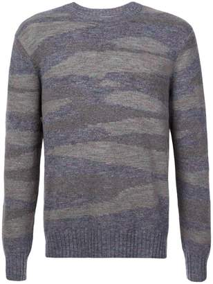 Michael Bastian patterned crewneck sweater