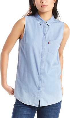 Levi's Levis Women's Coralie Button-Down Jean Shirt
