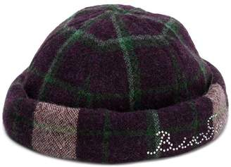 398ec32245b Free Shipping at Farfetch · Natasha Zinko plaid pattern hat