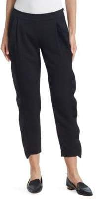 Akris Punto Cropped Ruffle Pants