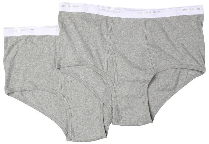 Calvin Klein Underwear Big Tall Big Brief 2-Pack U3280 Men's Underwear