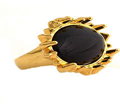 House Of Harlow 1960 Spike Cocktail Ring Gold