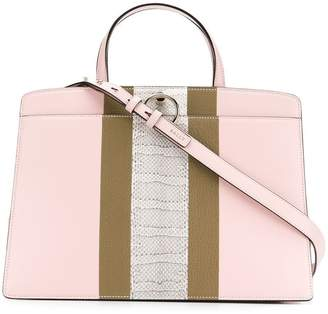 Bally structured tote bag