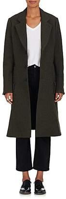 Yohji Yamamoto Regulation Women's Wool Melton Coat