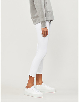 AG Jeans Prima cigarette mid-rise cropped jeans