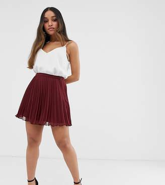 Asos DESIGN Petite pleated mini skirt