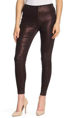 Habitual Sacha Metallic Suede Leggings
